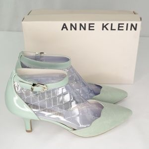 Anne Klein Findaway Pumps Sz 9.5 M Light Green